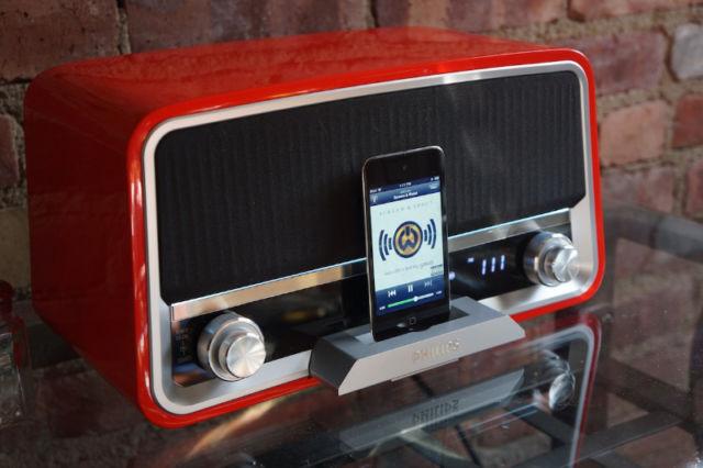 "Radio ""vintage"" ORD7100R/00: cổ điển, hát hay"