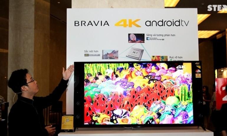 Sony ra mắt dòng TV 2015 sử dụng Android tại Việt Nam