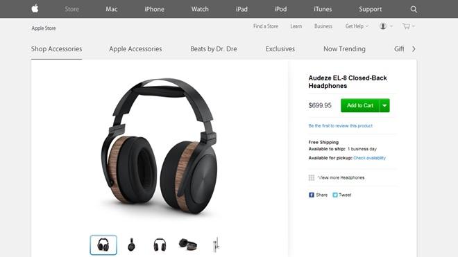 Apple bắt đầu bán tai nghe hi-end