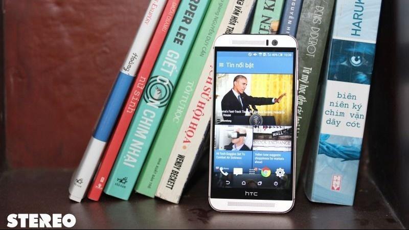 HTC One M9: vẫn đứng đầu về giải trí