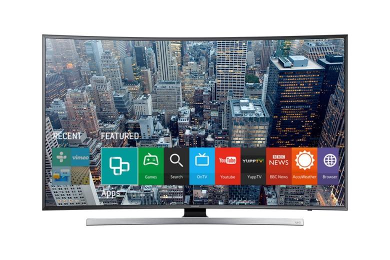Smart TV Samsung J6300: trải nghiệm màn hình cong lạ mắt