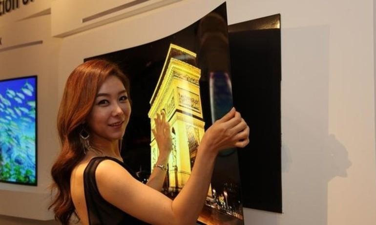 LG giới thiệu tấm nền TV OLED mỏng gần 1mm