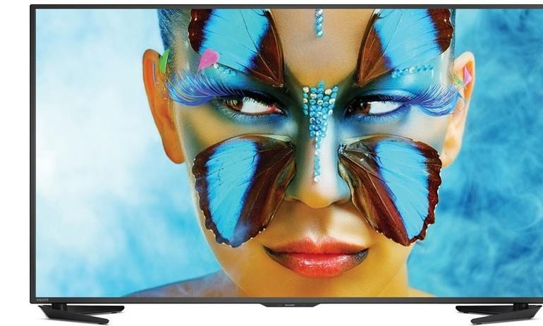 TV Ultra HD mới của Sharp chính thức lên kệ