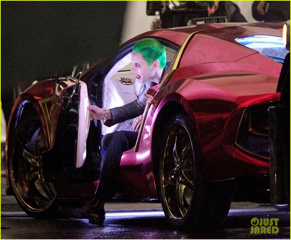 Lộ video rượt đuổi của Batman và Joker trên phim trường 'Suicide Squad'