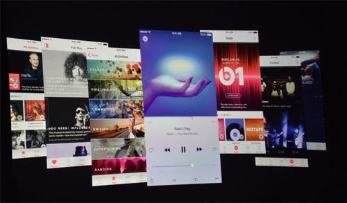 Apple cập nhật iOS 8.4 vào 30/6, có thêm Apple Music