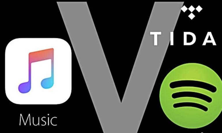 So sánh Apple Music và các đối thủ Tidal, Spotify