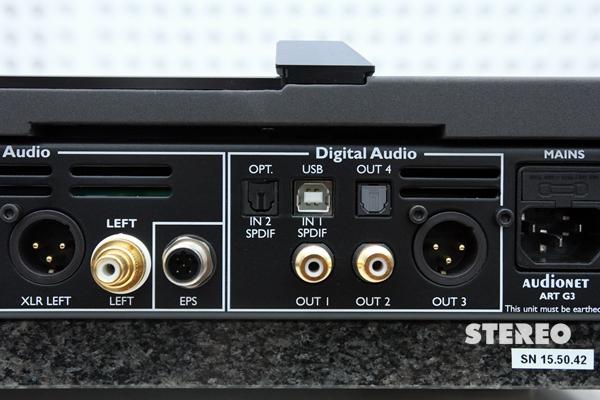 CD/DAC Audionet Art G3: Chính xác từng nốt nhạc
