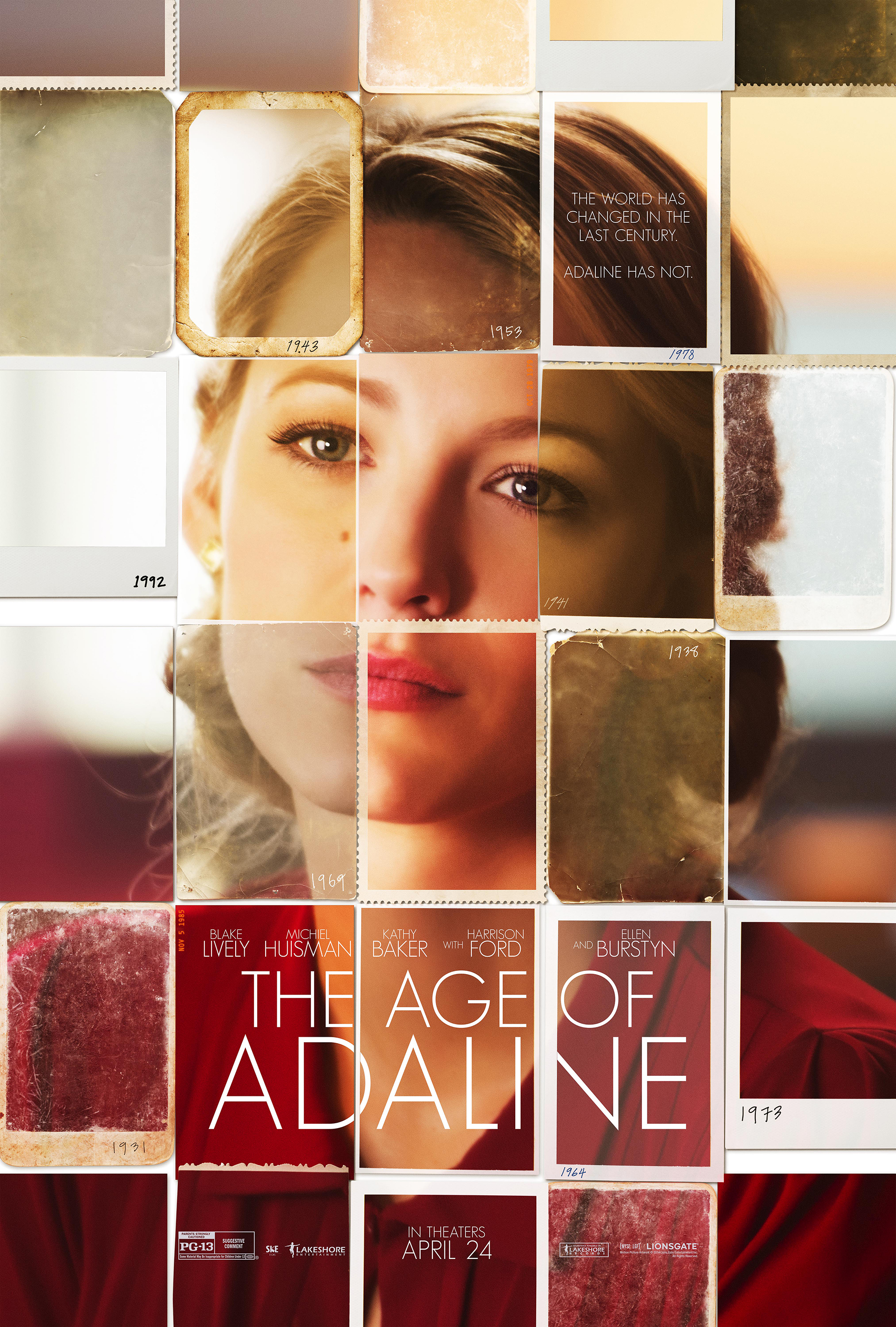 Blake Lively hút hồn trong 'The Age of Adaline'