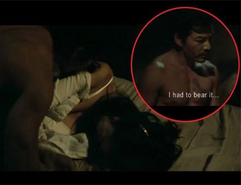 """Vũ Ngọc Anh hở """"táo bạo"""" cùng Trần Bảo Sơn trong phim 'Quyên'"""
