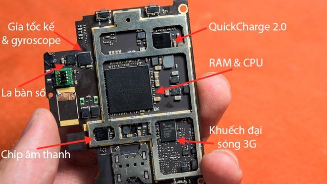 Bphone sử dụng chip DAC Qualcomm, không phải ESS Sabre32