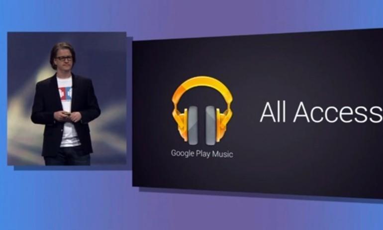 Google ra mắt dịch vụ nghe nhạc Play Music miễn phí