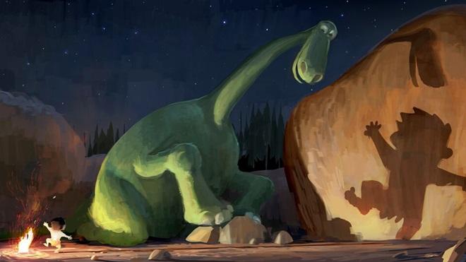 Pixar bất ngờ tung trailer phim hoạt hình The Good Dinosaur