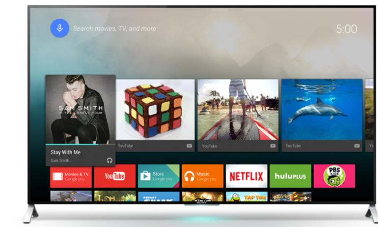 Android TV: trang mới cho toàn bộ Smart TV