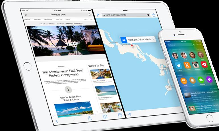 Apple chính thức ra mắt iOS 9: tăng pin, đa nhiệm hơn