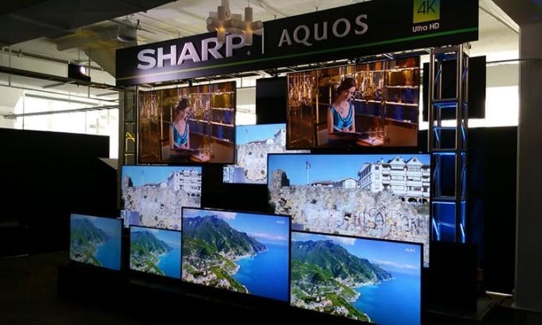 Sharp giới thiệu mẫu TV Ultra HD mới chạy Android TV