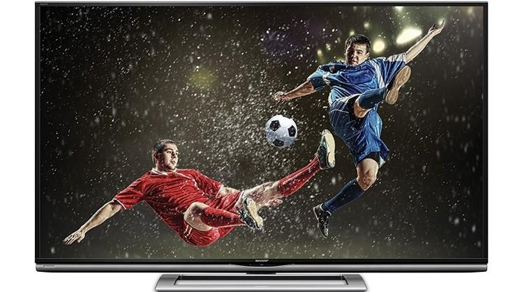 Smart TV Sharp 70UD1X: màn 4K, kích thước lớn