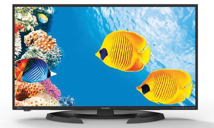 TV Sharp Aquos LE660X: cá tính và đẹp mắt
