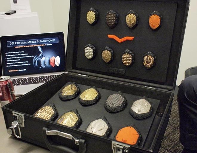 V-MODA giới thiệu dịch vụ tùy biến tai nghe 40.000 USD