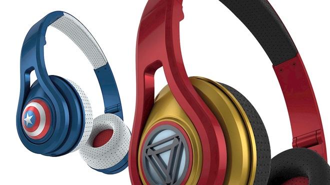 Rapper 50 Cent giới thiệu bộ tai nghe siêu nhân Avengers