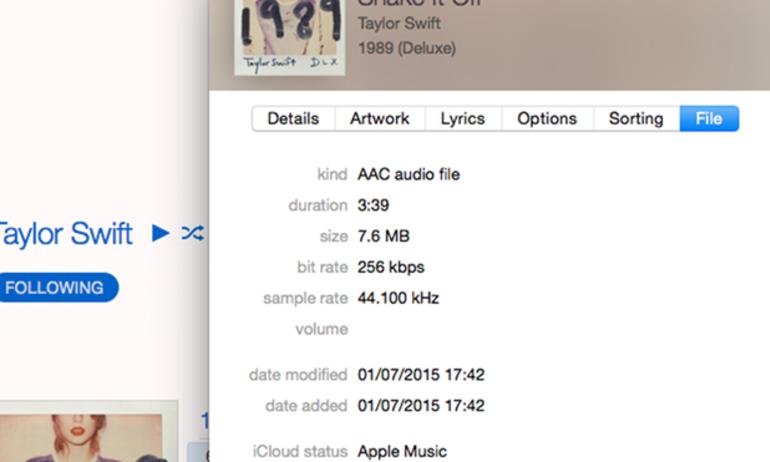 Nhạc từ Apple Music đạt chất lượng gần CD