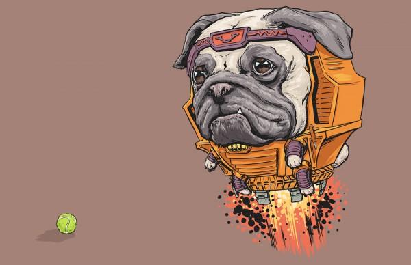 Khi những chú chó biến thành siêu anh hùng Marvel