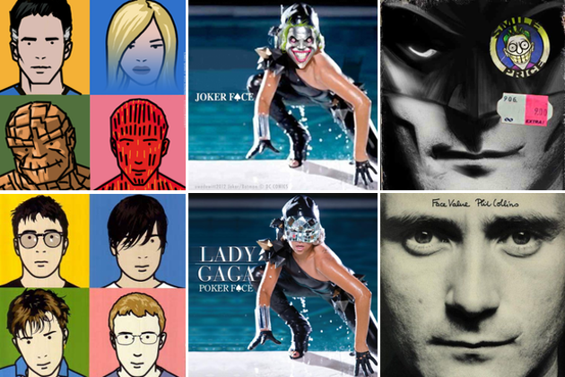 Khi siêu anh hùng lên bìa album ca nhạc