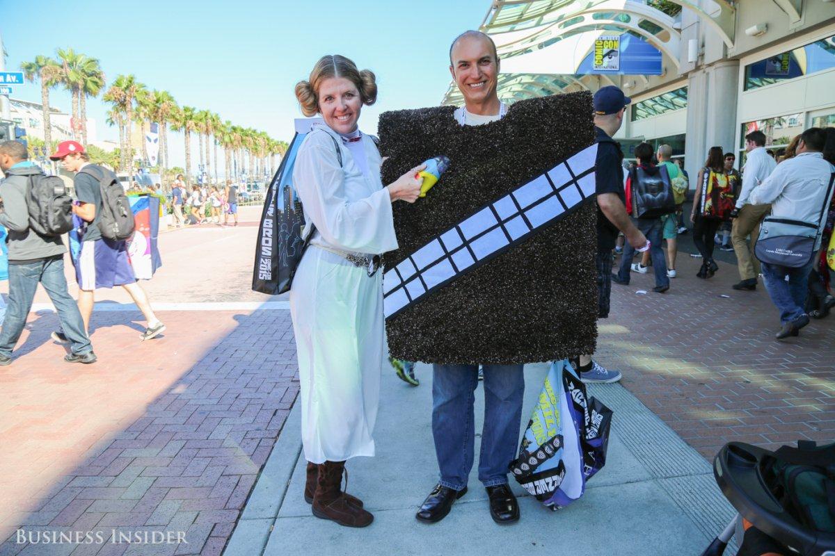 Thích thú với tài nghệ cosplay của fan tại San Diego Comic-con 2015