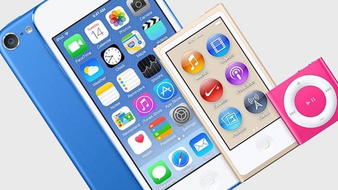 Apple sẽ ra mắt 3 máy nghe nhạc iPod mới trong tháng 7