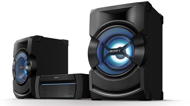 Sony ra mắt dòng loa Shake: biến phòng ngủ thành sàn nhạc
