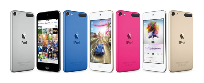 iPod Touch thế hệ 6 có bộ nhớ tối đa 128GB