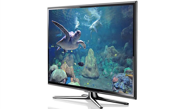 Smart TV Samsung ES6600: điếm nhấn hút mắt cho phòng khách