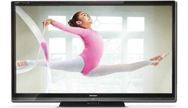 TV Sharp LE940M: sống động với công nghệ Quattron 4 màu