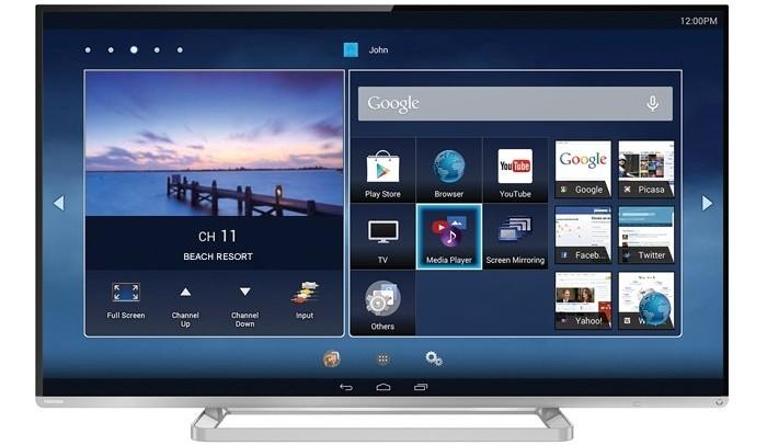 Toshiba L5450: smart TV Android sáng giá