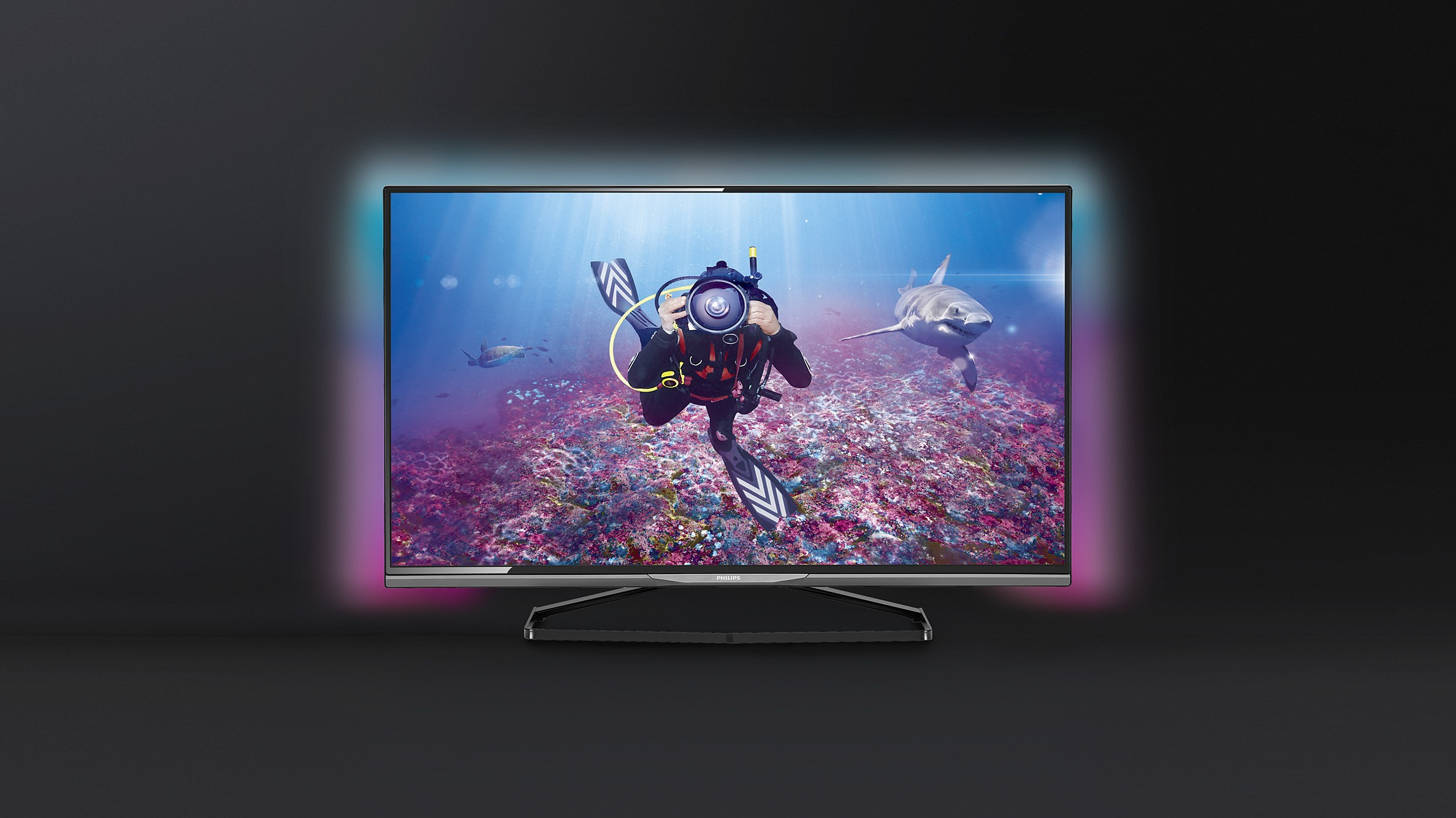 Smart TV Philips 8500: Cuốn hút với màn hình siêu mỏng