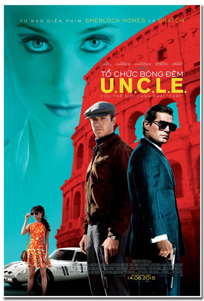 Hé lộ cảnh hậu trường gay cấn của 'The Man From U.N.C.L.E'