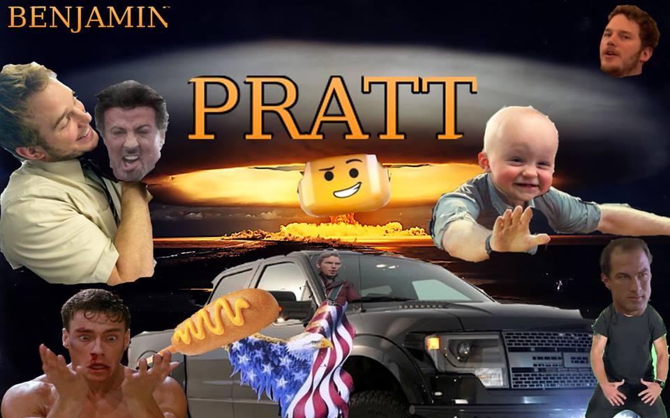"""""""Cười đứt ruột"""" với ảnh """"chế"""" cực độc của Chris Pratt"""