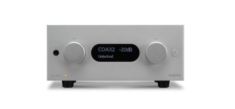 Audiolab công bố bộ ba sản phẩm hifi gồm cả M-DAC + thế hệ mới