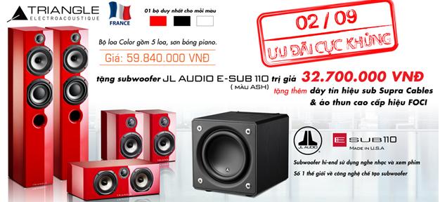[QC] Nguyễn Audio khuyến mãi khủng dịp quốc khánh 2.9