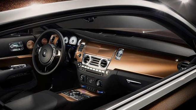 """Rolls-Royce ra mắt xe siêu sang Wraith phiên bản """"Inspired by Music"""""""