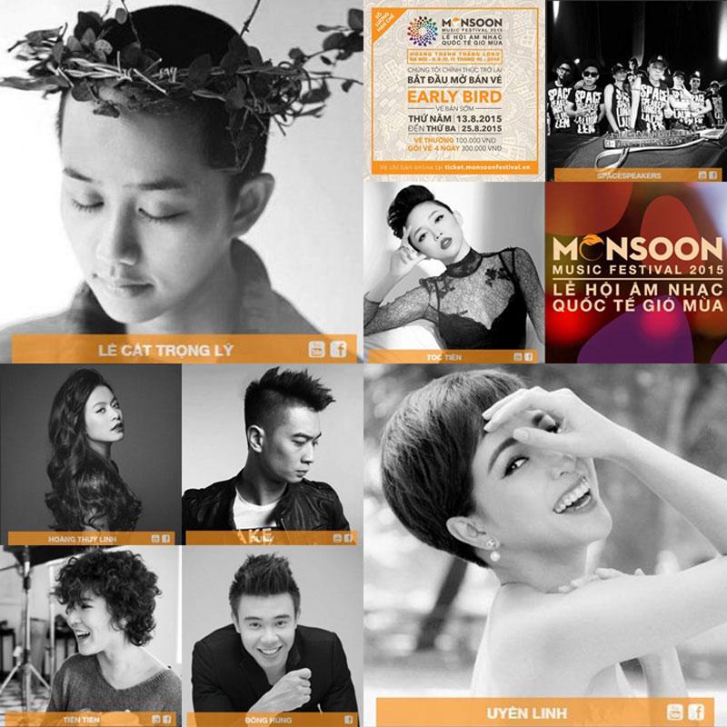 Háo hức với Monsoon Music Festival tại Việt Nam
