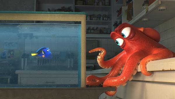 Pixar tiếp tục câu chuyện về những chú cá hài hước – 'Finding Dory'
