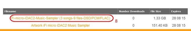 iFi Audio tặng miễn phí 3 bản nhạc DSD chất lượng cao