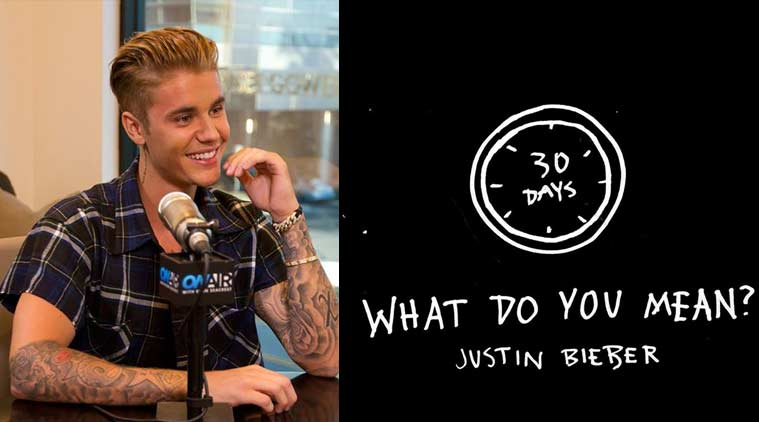 Justin Bieber mang 'What Do You Mean' lên sân khấu VMAs