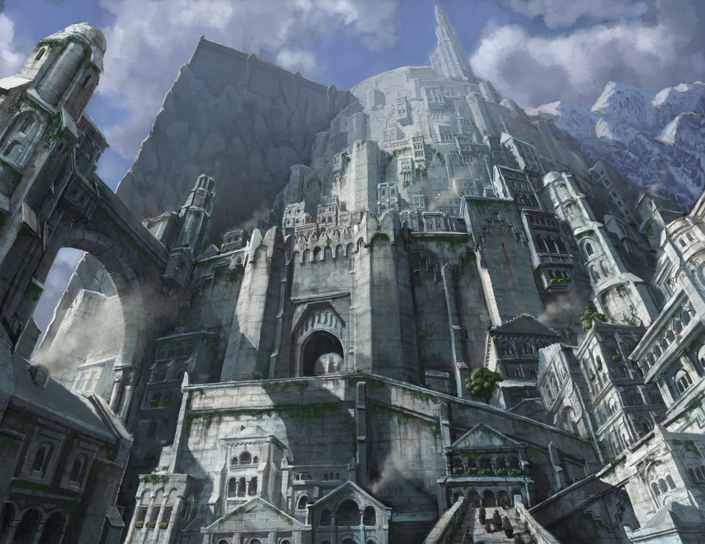 Hiện thực hóa thành trì Minas Tirith trong 'Lord Of The Rings'