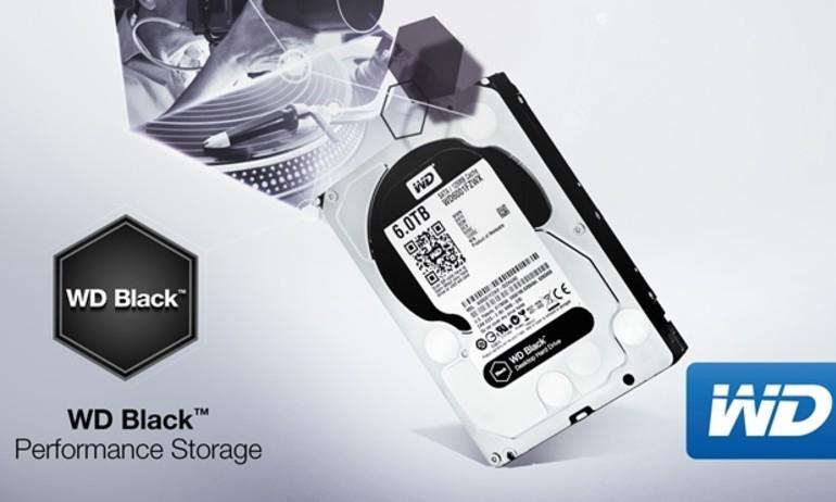 WD nâng cấp dòng ổ cứng Black lên dung lượng 6TB