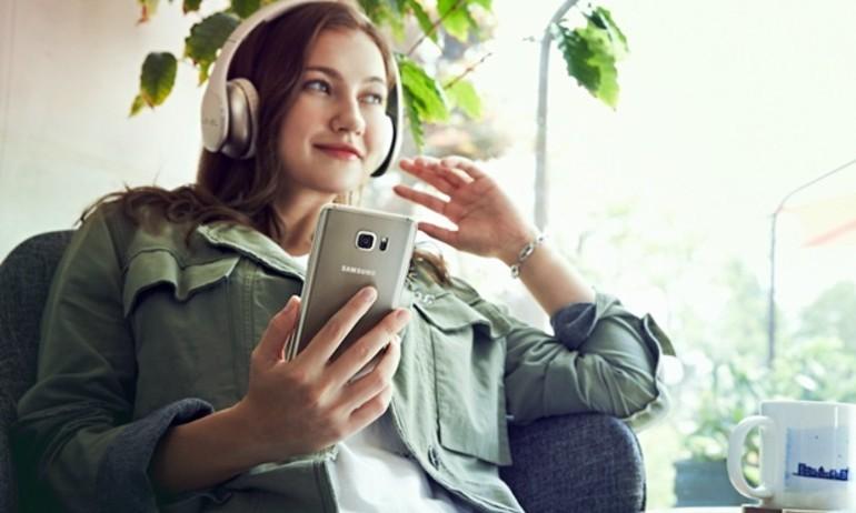 Samsung trình làng Galaxy Note 5, chú trọng nghe nhạc hi-res