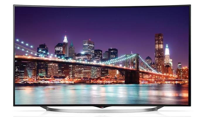 LG UC970T: TV màn hình cong, độ phân giải 4K