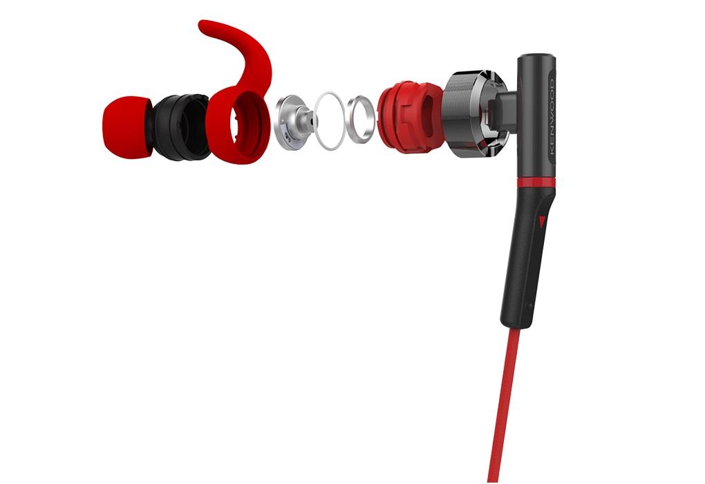 Kenwood giới thiệu cặp đôi tai nghe thể thao KH-SR800 và KH-KR900
