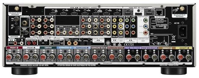 """Denon AVR-X6200W: Ampli xem phim """"hạng nặng"""" 2015"""