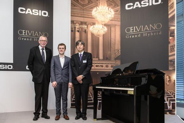 Casio khởi động mô hình Celviano Grand Hybrids mới